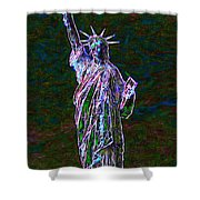 Lady Liberty 20130115 Shower Curtain