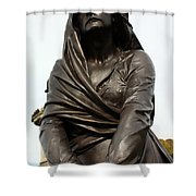 Lady Macbeth In Stratford Out Damned Spot  Shower Curtain by Terri Waters