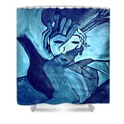 Lady Madonna  Shower Curtain