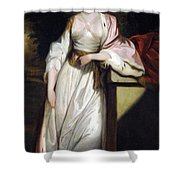 Lady Mary Isabella Somerset Shower Curtain by Robert Smirke
