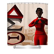 Lady Of Dst Shower Curtain