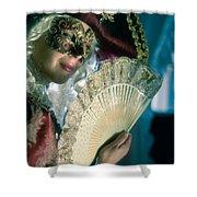 Lady Of Renaissance Shower Curtain