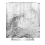 Lady Of The Clouds Shower Curtain