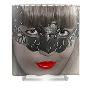 Lady Of The Opera Shower Curtain