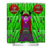 Lady Panda Have Arrived Shower Curtain