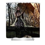 Lady Rain Shower Curtain