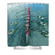 Lady Scullers Shower Curtain