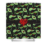 Ladybug Riches Shower Curtain