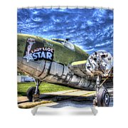 Lady Lode Star Shower Curtain