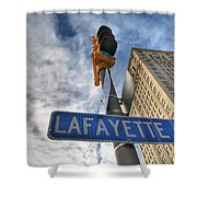 Lafayette Square Buffalo Ny V1 Shower Curtain