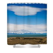 Lago Argentino In Patagonia  Shower Curtain