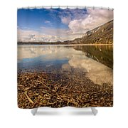 Lago Di Annone Shower Curtain