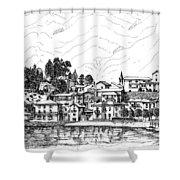 Lago Di Maggiore - Mergozzo Shower Curtain