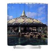 Lagoon Bar Shower Curtain
