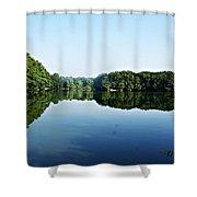 Lagoon II Shower Curtain