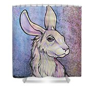 Lagos The Noble Hare Shower Curtain