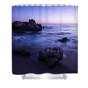 Laguna Beach Sunset In Ca Shower Curtain