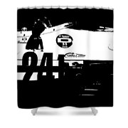 Laguna Seca Racing Cars 2 Shower Curtain by Naxart Studio
