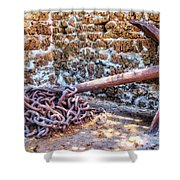 Lahaina Prison 2 Shower Curtain