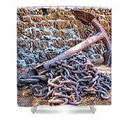 Lahaina Prison 3 Shower Curtain
