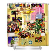 Lail Haseder 4dbab5774c Shower Curtain