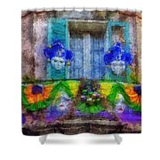 Laissez Le Bon Temps Rouler Shower Curtain