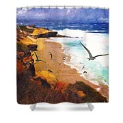 Lajolla Afternoon Shower Curtain