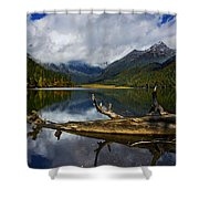 Lake 12 Shower Curtain