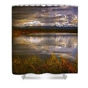 Lake 19 Shower Curtain