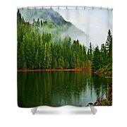 Lake 5 Shower Curtain
