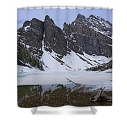 Lake Agnes #2 Shower Curtain