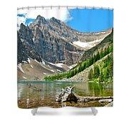 Lake Agnes In Banff Np-alberta Shower Curtain