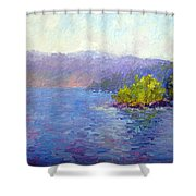 Lake Arrowhead Shower Curtain