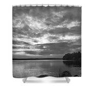 Lake Auburn  7p00297 Shower Curtain