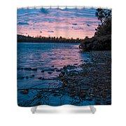 Lake Bailey Sunset Shower Curtain