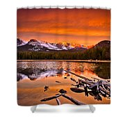 Lake Bierstadt In The Morn Shower Curtain
