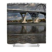 Lake Champlain Bridge Shower Curtain