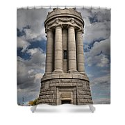 Lake Champlain Lighthouse Shower Curtain
