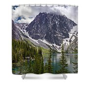 Lake Colchuck Gateway To The Enchantments Shower Curtain