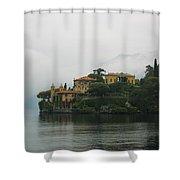 Lake Como No. 1 Shower Curtain