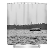 Lake Crossing Shower Curtain