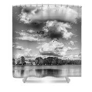 Lake De Soto Shower Curtain