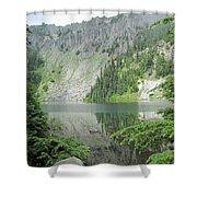 Lake Eunice Shower Curtain