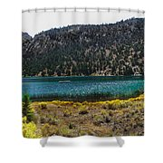 Lake Fall Colors Shower Curtain