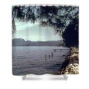Lake Garda Shower Curtain