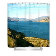 Lake Hawea Shower Curtain