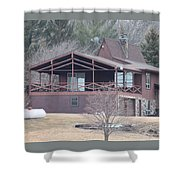 Lake Home Shower Curtain