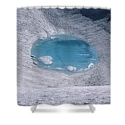M-05416-lake In Summit Crater On South Sister Shower Curtain