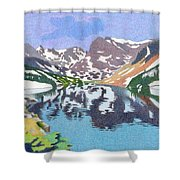 Lake Isabelle Colorado Shower Curtain