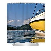 Lake Jocassee Shower Curtain